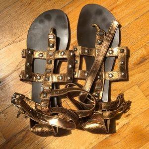 BCBGMaxAzria Gladiator Sandals Size 9.5